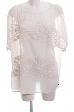 Yppig Lace Blouse white casual look