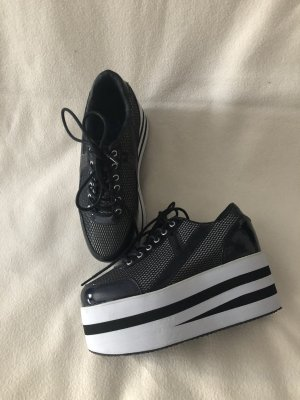 Basket noir-blanc