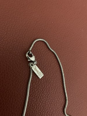 Saint Laurent Silver Chain silver-colored