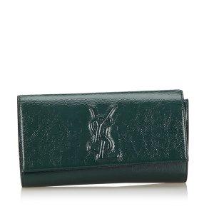 YSL Belle du Jour Patent Leather Clutch