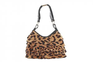 YSL Cheetah Print Pony Hair St. Tropez
