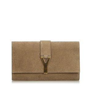 Yves Saint Laurent Clutch khaki