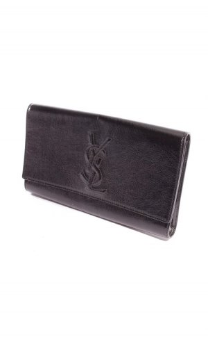YSL Clutch in schwarz