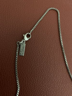 Yves Saint Laurent Silver Chain silver-colored