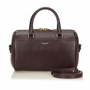 YSL Leather Baby Duffel