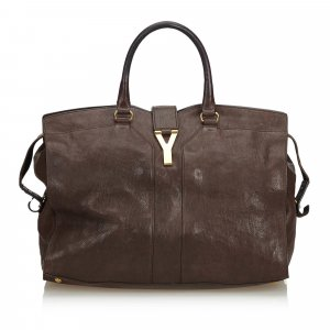 YSL Leather Cabas Chyc Handbag