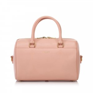 YSL Leather Classic Baby Duffel