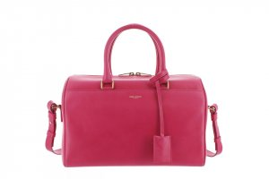 Yves Saint Laurent Satchel pink leather