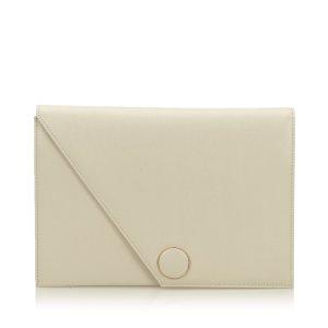 YSL Leather Clutch