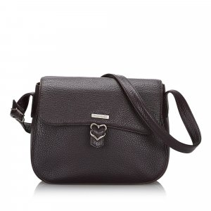YSL Leather Crossbody Bag