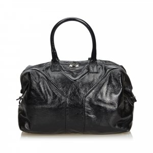 YSL Leather Easy Boston Bag