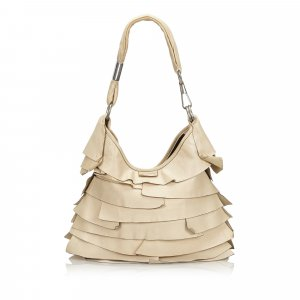 YSL Leather Saint Tropez Shoulder Bag