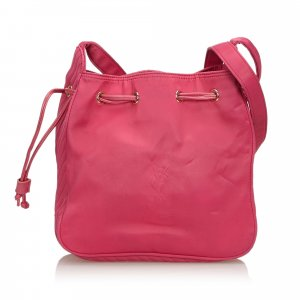 Yves Saint Laurent Bolsa de hombro rosa Nailon
