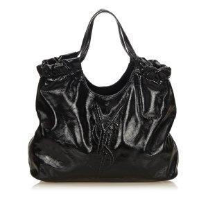 Yves Saint Laurent Tote black imitation leather