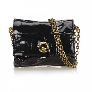 YSL Patent Leather Chain Bag