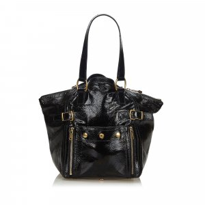 Yves Saint Laurent Tote black imitation leather