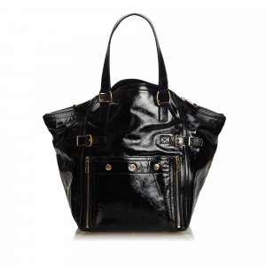 YSL Patent Leather Downtown Tote