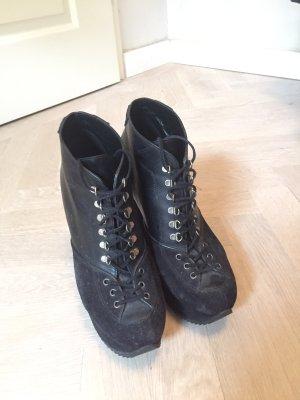 Yves Saint Laurent Scarpina di lana nero