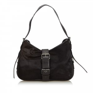 YSL Pony Hair Shoulder Bag