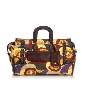 YSL Printed Canvas Travel Bag