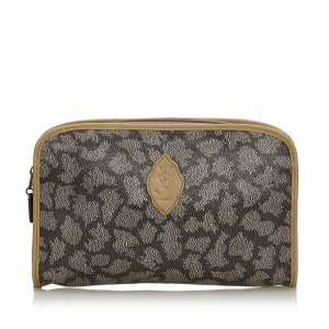 YSL Printed Clutch Bag