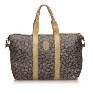 YSL Printed Duffle Bag