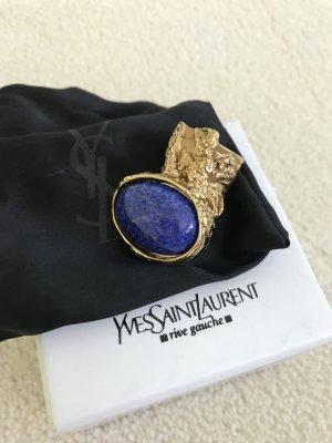 YSL Ring mit blauem Stein Lapis Lazuli Arty Ring