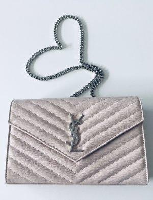 YSL Saint Laurent Chain Wallet Rosa wie Neu