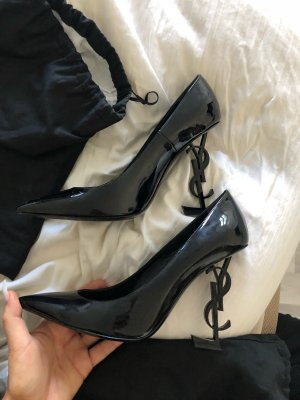 YSL Saint Laurent opyum Pumps Lackleder