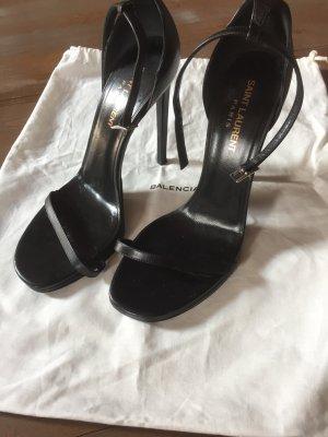 YSL Saint Laurent Schuhe 38 schwarz high heels