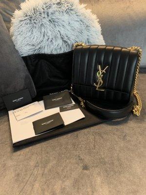 YSL Saint Laurent Tasche Medium Vicky aus Leder