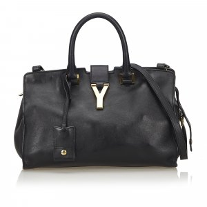 Yves Saint Laurent Satchel black leather