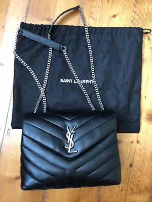 YSL Small LouLou Bag in schwarz