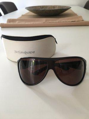 YSL Sonnenbrille in braun