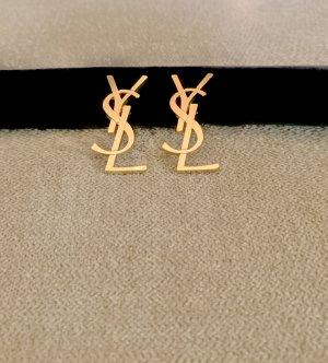 Yves Saint Laurent Broche color oro