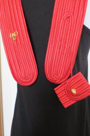 YSL Vintage Rot Gürtel (36)