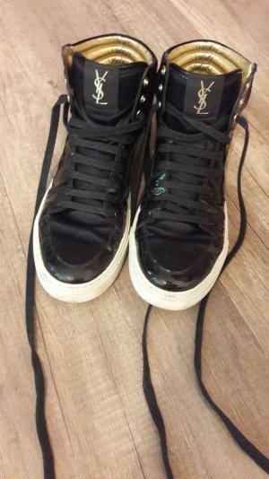 YSL Yves Saint Laurent Sneaker Malibu High Hightop Lack 40