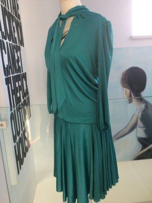 YULAN Designer Kleid Seide 36/38 NPR 889 Kauf 2016 Mailand Couture