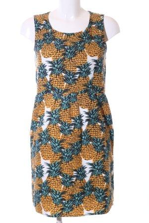 Yumi A-Linien Kleid Blumenmuster Casual-Look