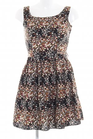 Yumi A-Linien Kleid Blumenmuster Romantik-Look