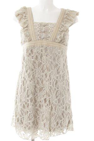 Yumi Abendkleid creme-beige klassischer Stil