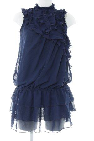 Yumi Ballonjurk donkerblauw elegant