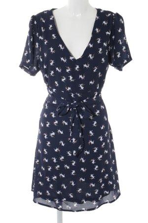 Yumi Blouse Dress animal pattern