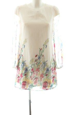 Yumi Blusenkleid Blumenmuster Casual-Look