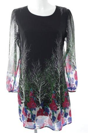 Yumi Blusenkleid florales Muster Casual-Look