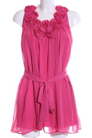 Yumi Chiffonkleid pink Casual-Look