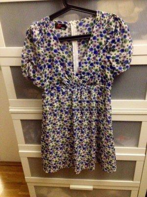 Yumi Kleid Blumen blau