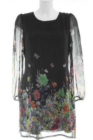 Yumi Longsleeve Dress abstract print casual look
