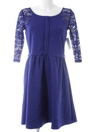 Yumi Langarmkleid dunkelblau Elegant