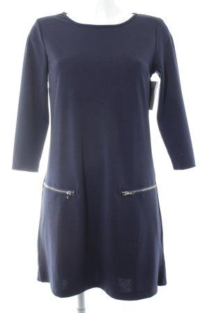Yumi Langarmkleid dunkelblau klassischer Stil